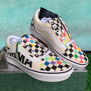 VANS COMFYCUSH OLD SKOOL MOMA BRAND MEN'S